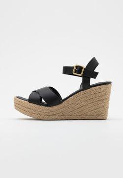 Trendyol - Espadrilles - black