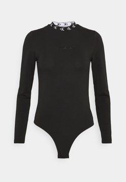 Calvin Klein Jeans - LOGO TRIM - Langarmshirt - ck black