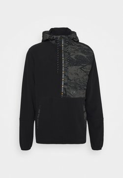 Oakley - FLIGHT TIME HOODY - Fleecepullover - blackout
