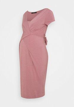 9Fashion - HOLLY NEW II - Vestido de tubo - grey pink