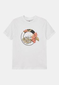 Rip Curl - FILIGREE UNISEX - T-shirt imprimé - white