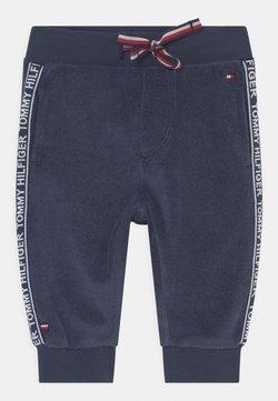 Tommy Hilfiger - BABY TAPE UNISEX - Pantalones - blue