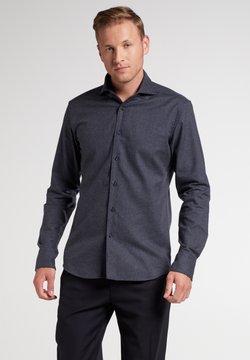 Eterna - SLIM FIT - Hemd - blau/grau