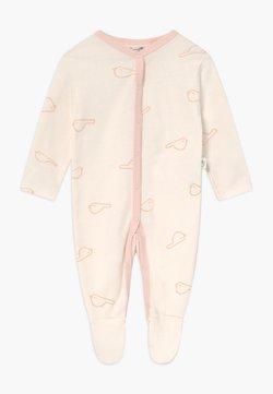 Sanetta - OVERALL BABY  - Pyjama - white whisper