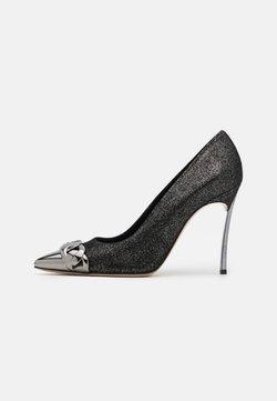Casadei - Zapatos altos - dark phoenik gunmetal