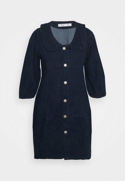 Glamorous Curve - Vestito di jeans - dark navy