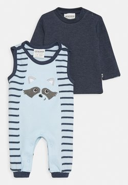 Jacky Baby - NATIVE RACCOON SET - Overall / Jumpsuit - blue