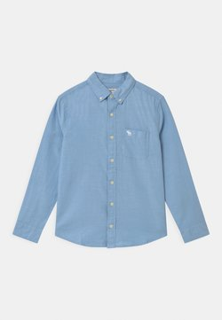 Abercrombie & Fitch - PREPPY - Chemise - solid blue