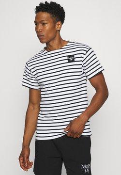 More Joy by Christopher Kane - BRETON STRIPE UNISEX - T-Shirt print - white/black