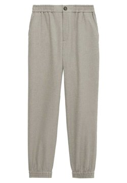 Massimo Dutti - MIT STRETCHBÜNDCHEN  - Trousers - grey