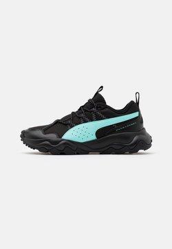 Puma - EMBER TRL - Zapatillas de trail running - black/aruba blue