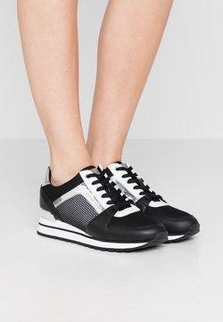 MICHAEL Michael Kors - BILLIE TRAINER - Sneakers - black/silver