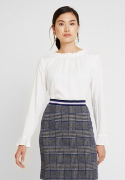 Esprit Collection - RUFFLE NECK - Bluse - off white