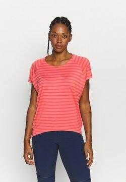 Icebreaker - ELOWEN CREWE - T-Shirt print - pink