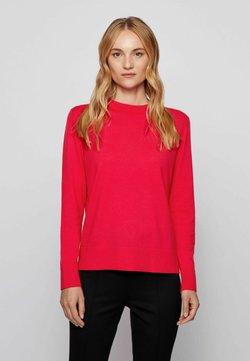 BOSS - FIBINNA - Stickad tröja - pink
