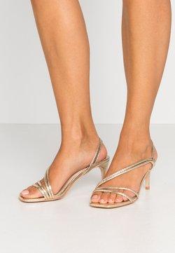 Head over Heels by Dune - MALACHI - Sandalen met hoge hak - gold