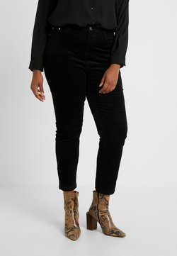 Simply Be - STRETCH MOM - Slim fit jeans - black