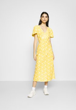 Ghost - LILYBELLE DRESS - Freizeitkleid - yellow