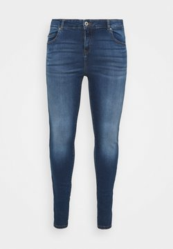 Noisy May Curve - NMLUCY SKINNY JEANS CURV - Jeans Skinny Fit - medium blue