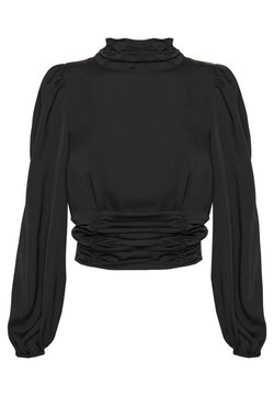 Gina Tricot - LIV OPEN BACK TOP - Blus - black