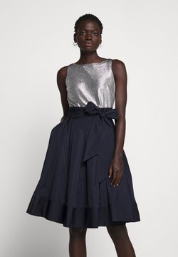 Lauren Ralph Lauren - MEMORY TAFFETA DRESS COMBO - Cocktailkleid/festliches Kleid - lighthouse navy