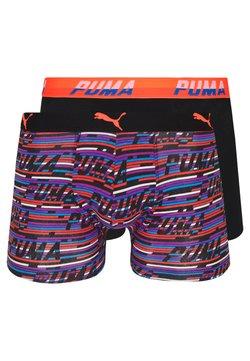 Puma - LOGO 2 PACK - Shorty - blue/orange
