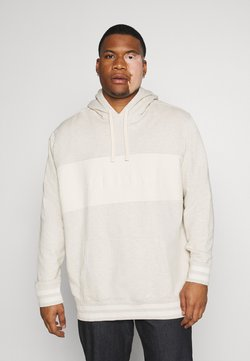 Levi's® Plus - BIG RELAXED FIT HOODIE - Sudadera - tofu