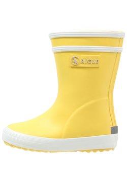 Aigle - BABY FLAC UNISEX - Kumisaappaat - jaune