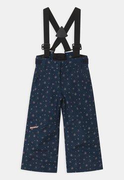 Ziener - AVATINE SLIM UNISEX - Snow pants - dark blue