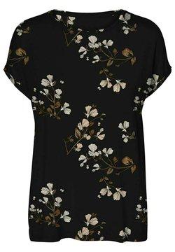 Vero Moda - VMHALLIE NEW - T-Shirt print - black