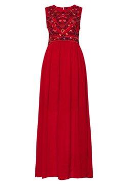 YAS - YASCHELLA DRESS  - Maxi dress - red ochre