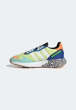 adidas Originals - ZX 1K BOOST  - Sneaker low - yellow