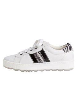 Jana - Sneaker low - white/zebra