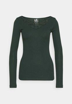 ONLY - ONLKIRA LIFE TOP  - Bluzka z długim rękawem - green gables