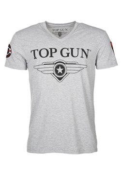 TOP GUN - T-shirt print - grey