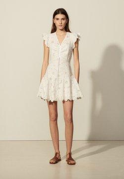 sandro - Vapaa-ajan mekko - blanc