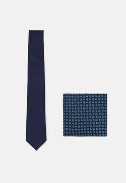 Pier One - SET - Krawat - dark blue