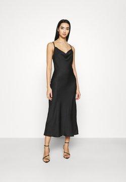 Vero Moda - VMCENTURY OPEN BACK DRESS - Ballkjole - black