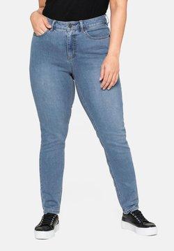 Sheego - Jeans Skinny - blue denim