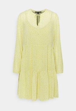 comma - Freizeitkleid - light yellow