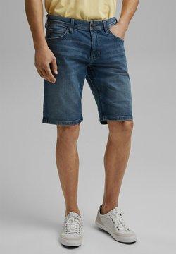 edc by Esprit - Shorts vaqueros - blue medium washed