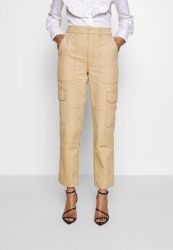 Who What Wear - THE UTILITYPANT - Stoffhose - sand