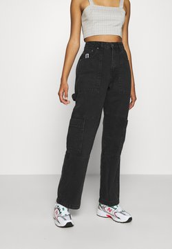 The Ragged Priest - COMBAT - Jeans Straight Leg - charcoal