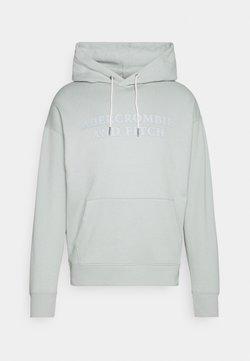 Abercrombie & Fitch - Sweatshirt - light blue/grey