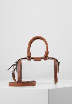 Polo Ralph Lauren - CAMDEN - Torba na ramię - clear/cuoio