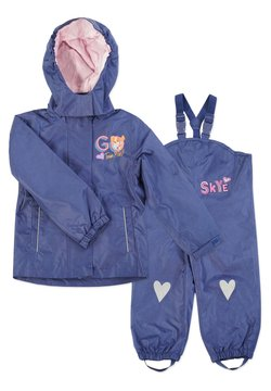Paw Patrol - MATSCH UND BUDDELANZUG SET-Waterproof jacket - Regnbyxor - dunkelblau