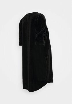 ATTESA - SBUFFO VELLUTO - Vestido ligero - black