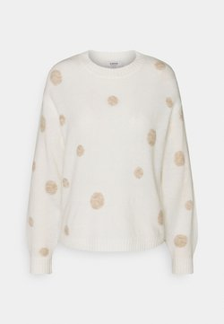 b.young - MARTINE DOT JUMPER  - Maglione - off white