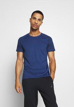 Casall - STRUCTURED TEE - T-Shirt basic - steady blue