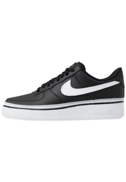 Nike Sportswear - AIR FORCE 1 '07 LV8  - Sneaker low - black/white/wolf grey